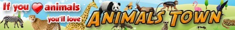 Animals Town. Explore animals by visiting their islands.